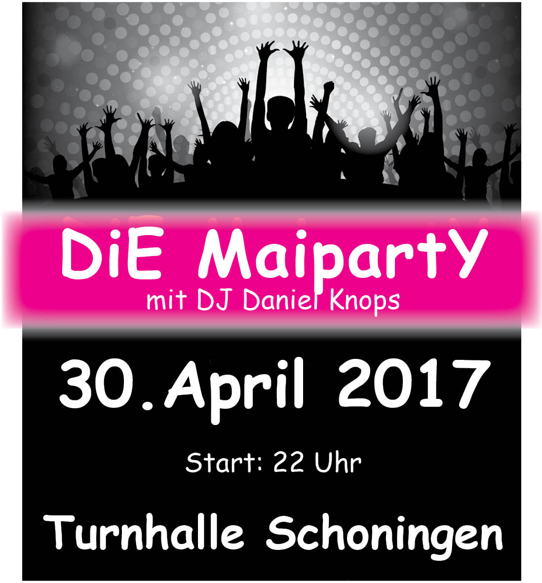 Maiparty 2017 Anzeige