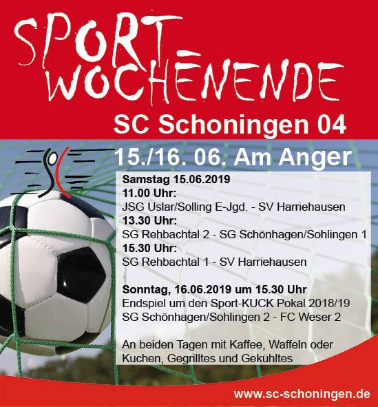 Anzeige 2019 Sportwochenende