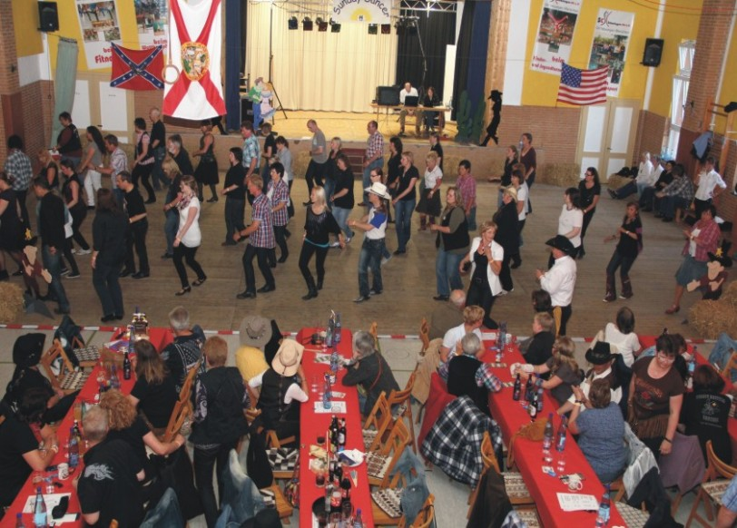 Line-Dance-Party am 21. Oktober